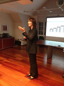 Vortrag von Sibylle Melcher